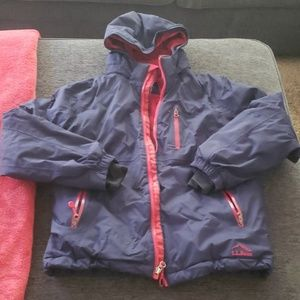 LL Bean boys insulated jacket